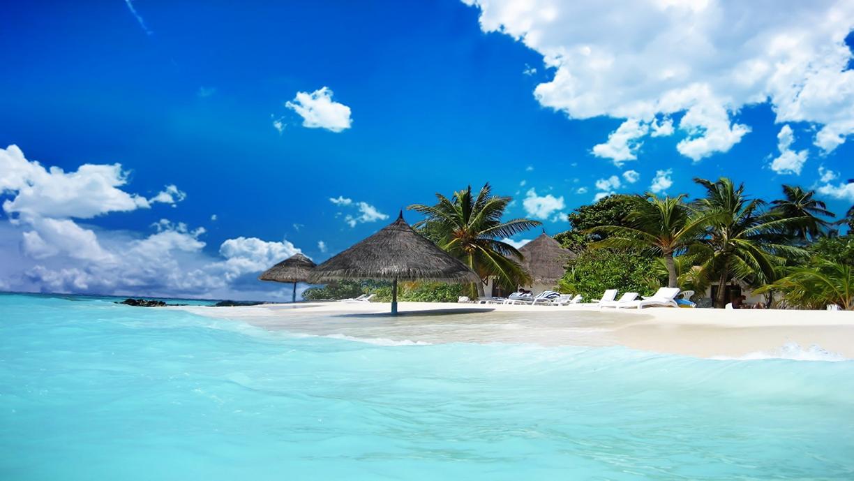 Beach Scene Jamaica # 4